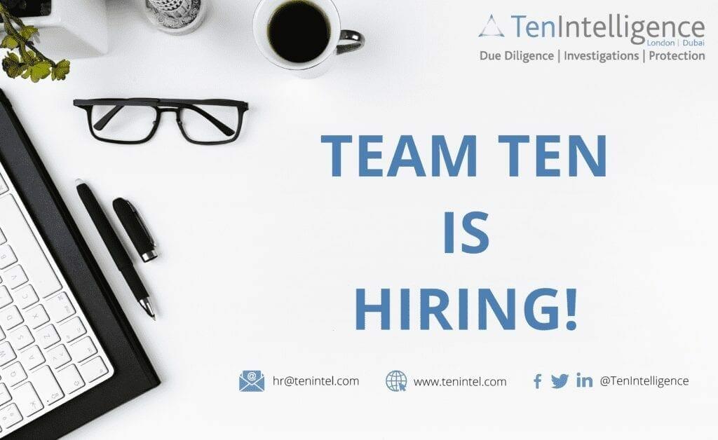 Team Ten is hiring graphic